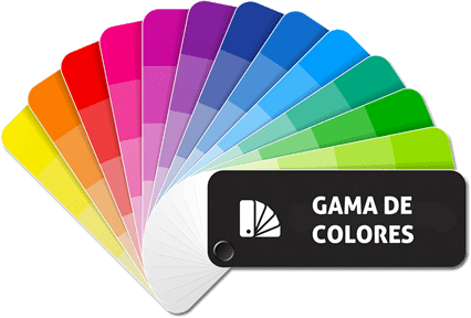 Gama de colores Mactac ColourWrap