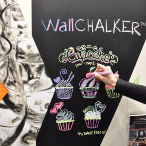 vinilo pizarra negro WALLCHALKER
