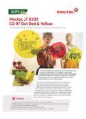 JT8300 CG-RT Dot Red-Yellow
